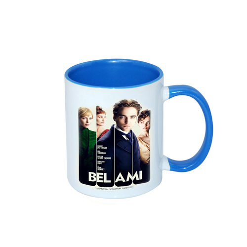 Inner Rim Color Mug(Light Blue)